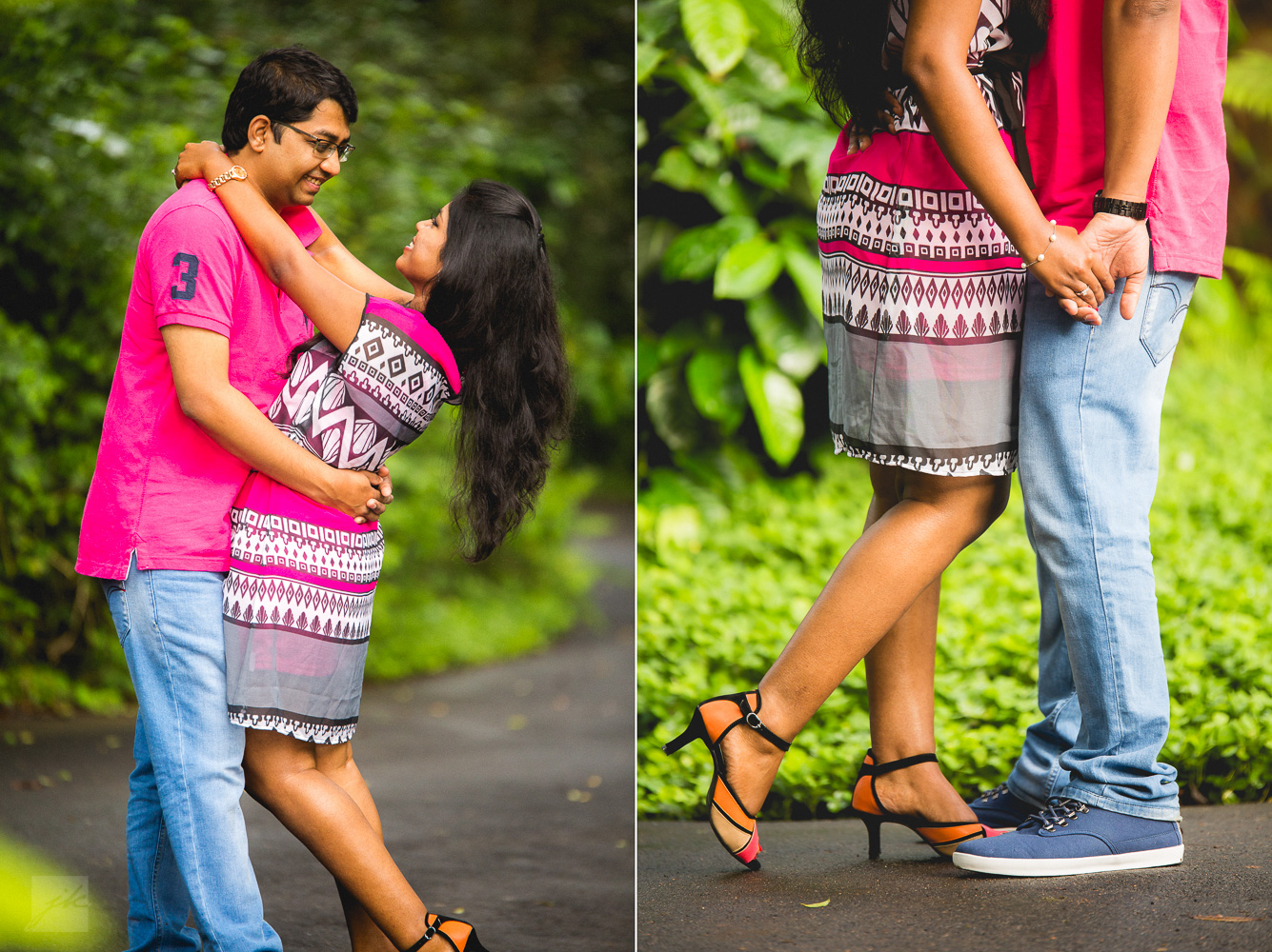 Outdoor Pre/Post wedding Photoshoot at Orange County, Coorg