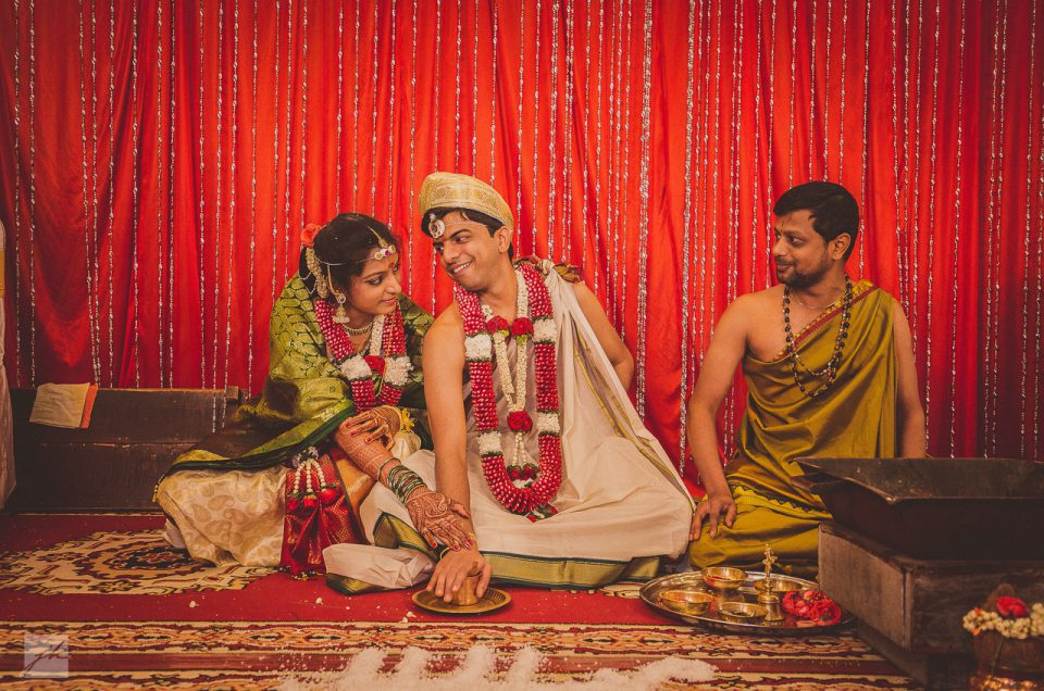 Vivek & Sindhu – Kannda Brahmin Wedding at Bangalore