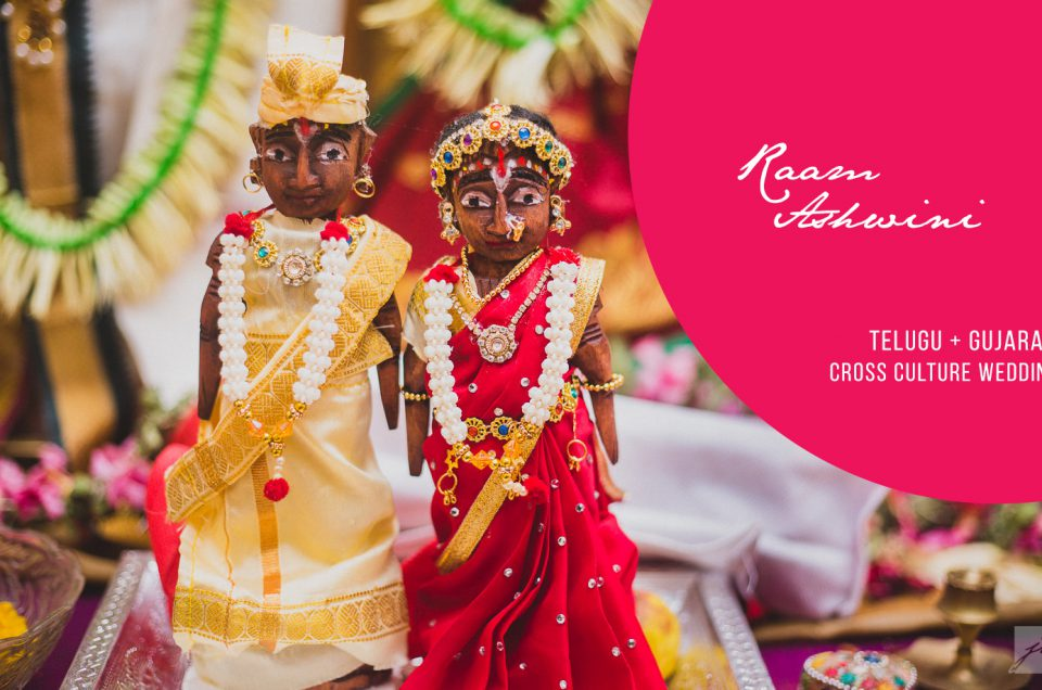 Raam & Ashwini | Telugu & Gujarati Cross culture Hindu wedding | Candid Wedding Photographer in Coimbatore